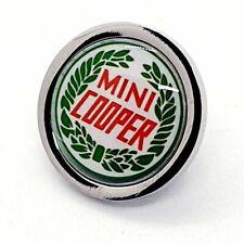 Handmade MINI COOPER BADGE lapel PIN brooch CLASSIC CAR emblem GIFT cool UNIQUE