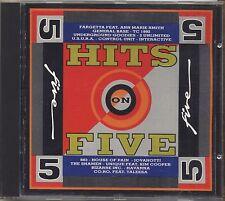 Hits on Five 5 - FARGETTA U.S.U.R.A. 883 TALEESA CD 1992 NEAR MINT CONDITION