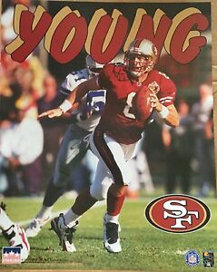 Steve Young San Francisco 49ers 16x20 Starline Poster OOP