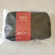 Sealed Tumi Business Amenity Lifestyle & Travel Bag Case Accessories 11 pc Delta