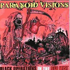 PARANOID VISIONS - BLACK OPERATIONS IN THE RED MIST NEW CD
