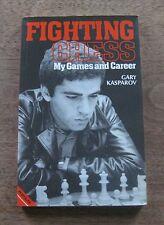 FIGHTING CHESS games career by Gary Kasparov - 1st/1st PB 1983 - near fine