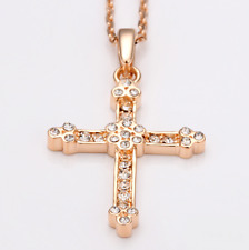 SWAROVSKI Crystal Cross Pendant Necklace | Gift Idea