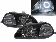 Civic EJ/EK/EM MK6 96-98 PRE-FACELIFT CCFL Projector Headlight BK for HONDA LHD