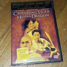 Crouching Tiger Hidden Dragon Dvd, Widescreen, Brand New & Sealed