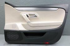 2009-2017 VW VOLKSWAGEN CC FRONT PASSENGER RIGHT DOOR PANEL 3C8867012 BEIGE