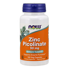 NOW Foods Zinc Picolinate, 50mg 120 caps  - VITAMINE