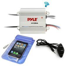 Pyle PLMRMB2CW Bluetooth Marine Amplifier Kit, 2-Ch. Waterproof Audio Power Amp