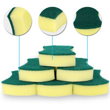 6Pack Multi-Use Heavy Duty Scrub Sponge Absorbent Non-Scratch Kitchen Bathroom