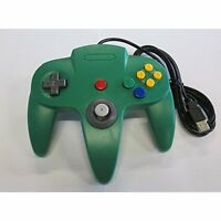Nintendo N64 USB Controller Green By Mars Devices Gamepad Brand New