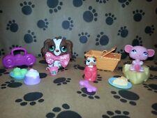 Littlest Pet Shop LPS Original Christmas Gift Cocker Spaniel #156 Puppy Dog Lot