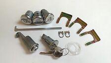 1967 Camaro Lock Cylinder Set Ignition Door Trunk Glove Box Keys 1966 1967 Nova