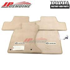 GENUINE LEXUS IS250/350 AWD OEM LOGO CARPET FLOOR MATS CASHMERE PT208-53068-30