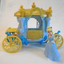 Disney Princess Magiclip Little Kingdom Blue Royal Carriage &  Cinderella  2013