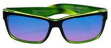 Von Zipper Elmore Limited Edition Black lime Quasar Glo  Sunglasses NEW