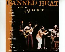 CD CANNED HEAT	the best of	EX+	HOLLAND 1997  (A3382)