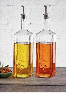Pasabahce Olivenöl-Essig Flasche Essig Öl Spender Glas 1 Stück 1000ml 80230