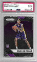 PSA 9 MINT 2016-17 PANINI PRIZM BRANDON INGRAM RC #131 - LAKERS PELICANS