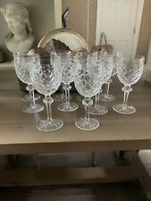 Waterford Crystal Wine Glasses 7 7/8 8 Inch Qty 10