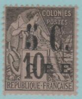 Guadeloupe 10 Mint Hinged OG * NO FAULTS EXTRA FINE!