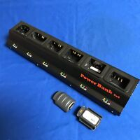 6 Bank Pro Charger(UL/CE)+10(2x5)Batteries For Honeywell DOLPHIN 7600#7600-BTEC