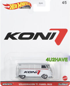 Hot Wheels 2021 Pop Culture K Case VOLKSWAGEN T1 PANEL BUS White