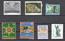 ITALIA 2013 - 7 francobolli  - USATI (come in foto)