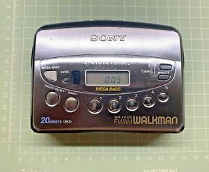 Sony Walkman WM-FX473  S/N: 156060 [ FM / AM / Auto Reverse Cassette Player  ]