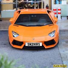SNKRS SNEAKERS Personalised Car Registration Hypebeast