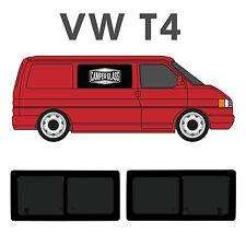 VW T4 Transporter 2 x Privacy Sliding Windows, T4 Sliders, T4 Side Windows 91-03