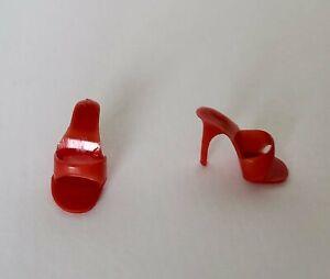 Barbie or Midge High Heels in Red