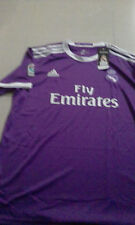 Real Madrid Football Jersey Away Purple (Size M / Brand New).-