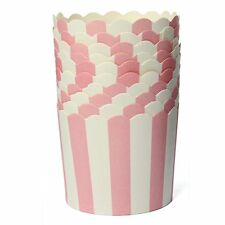 Party : Cupcake Liner Candy Popcorn Cookie Cups Party Needs 20 pcs Pink