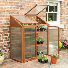 Rowlinsons Hardwood Mini Greenhouse