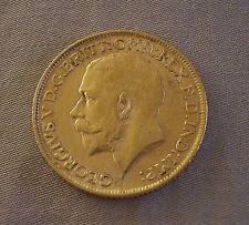 1912 GOLD Coin George Georgivs V D.G. Britt Great Britain British OMN REX