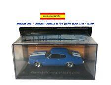 AMERICAN CARS - CHEVROLET CHEVELLE SS 454 (1970) ESCALA 1:43 - ALTAYA RUTA 66