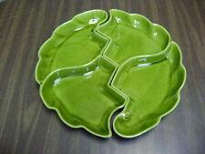 California Pottery Retro Serving Dishes R177 Green