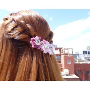 Luculia Barrette GHH-18B Hair Barrette Flower Fashion Accessory Japanese Design