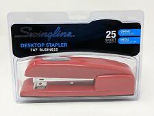 Red Swingline Stapler 747 Business Desktop Stapler