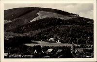 Darlingerode Oehrenfeld Sachsen Anhalt DDR s/w AK 1958 Gesamtansicht ungelaufen