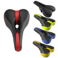 Mountain Bike Bicycle Cycle MTB Soft Saddle Seat Road Sport Extra Comfort