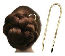 Metal Hair Pin, Bun Holder for FINE MEDIUM THICK Hair, Wedding Fork Slide Comb