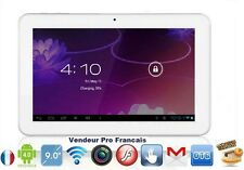 Tablette PC Tactile 10'' Android Capacitif WiFi Google Play HD Camera 8Gb Blanc