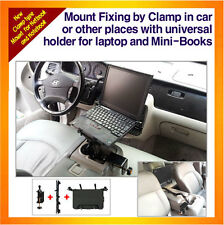 Laptop Mount fixing by clamp, Min-Book,Netbook,Notebook, with Universal Holder