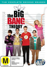 THE BIG BANG THEORY - COMPLETE SECOND SEASON - BRAND NEW & SEALED DVD (4-DISC)