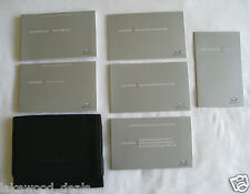 2014 INFINITI Q50 SEDAN OWNERS MANUAL COMPLETE SET w/CASE & QUICK REF & INTOUCH