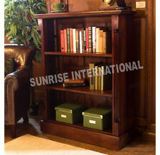 Wood Wooden bookcase book shelves/ Display rack with carving (MEDIUM) !!