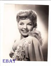 Frances Langford busty sexy VINTAGE Photo Bamboo Blonde