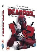 Deadpool Double Pack 1 AND 2 (Blu-ray) BRAND NEW SEALED.