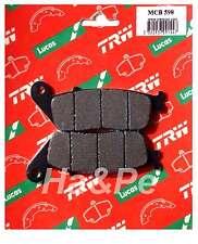 HONDA-ORIGINALE trw-lucas PASTIGLIE BRAKE PADS mcb598